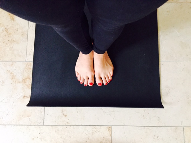 Yoga ON and OFF the mat.