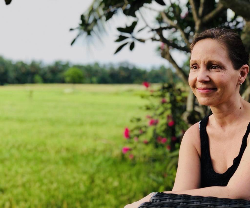 Persönliche Mentorin Christine Rudolph entspannt auf Reisen